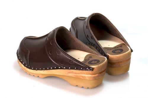 Women's Troentorp Clogs. Durer. Cola Brown 112587