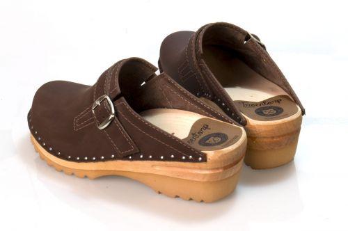 Women's Troentorp Bastad Clogs. Raphael. Cocoa nubuck 112582
